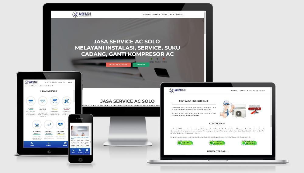 Jasa Pembuatan Website Company, Olshop, Kantor, Sekolah Di Solo